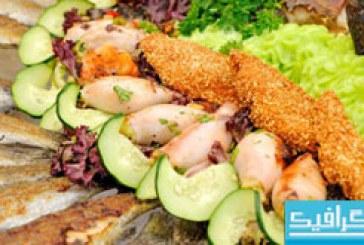 دانلود تصاویر استوک غذا های دریایی – شماره 2