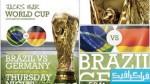 فایل لایه باز پوستر جام جهانی فوتبال 2014 برزیل