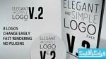 پروژه افتر افکت نمایش لوگو در 8 حالت مختلف