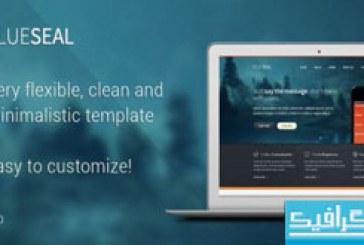 دانلود قالب PSD سایت شخصی و شرکتی – Blueseal
