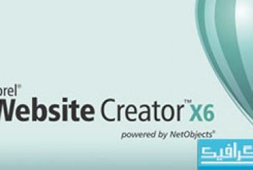 نرم افزار ساخت صفحات وب Corel Website Creator X6