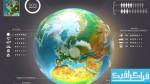 فایل لایه باز عناصر آمار و اطلاعات کره زمین