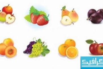 دانلود وکتور های میوه – شماره 3