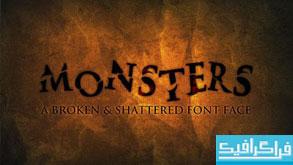 فونت انگلیسی Monsters