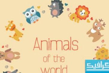دانلود آیکون های حیوانات با طراحی تخت