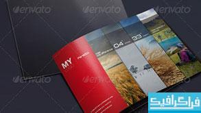 دانلود فایل لایه باز بروشور نمایش محصولات