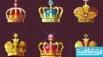 دانلود وکتور های تاج پادشاه