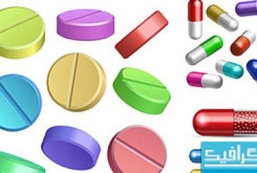دانلود وکتور های دارو – قرص – کپسول