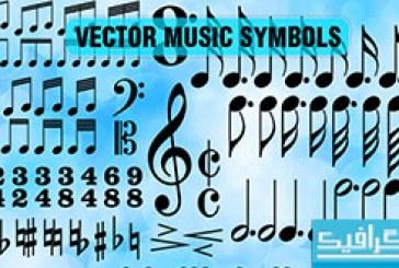 دانلود وکتور های نُت موسیقی