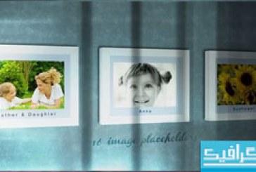 دانلود پروژه افتر افکت نمایش تصاویر روی دیوار