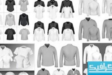 دانلود وکتور های پیراهن – تی شرت – کلاه