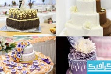 دانلود تصاویر استوک کیک عروسی