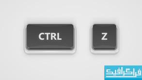 آموزش ایلوستریتور ساخت دکمه سه بعدی