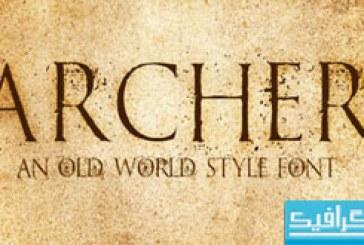 دانلود فونت انگلیسی Archer
