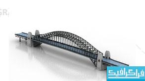 دانلود مدل سه بعدی پل