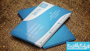 دانلود کارت ویزیت شرکتی - طرح شماره 19