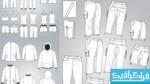 دانلود وکتور های لباس