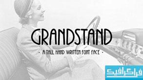 دانلود فونت انگلیسی Grandstand