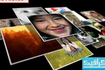 پروژه افتر افکت ظاهر شدن لوگو با نمایش تصاویر