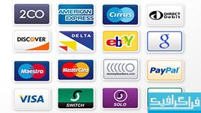 دانلود آیکون های کارت اعتباری