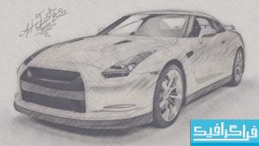 اکشن فتوشاپ تبدیل عکس به نقاشی مداد - شماره 7