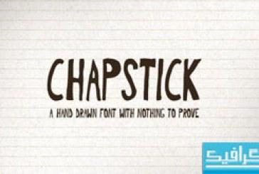 دانلود فونت انگلیسی Chapstick