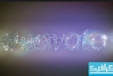 دانلود پروژه افتر افکت نمایش لوگو با الماس