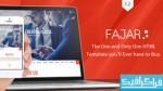 دانلود قالب سایت HTML تک صفحه ای Fajar