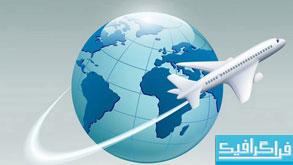 دانلود وکتور های خطوط هوایی بین المللی