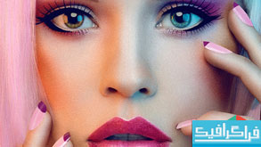 دانلود اکشن فتوشاپ زیبایی و آرایش صورت