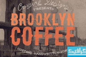 دانلود فونت انگلیسی Brooklyn Coffee