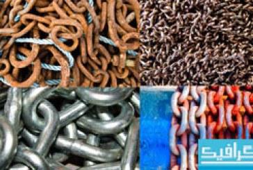 دانلود تکسچر های زنجیر فلزی