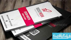 دانلود کارت ویزیت شرکتی - طرح شماره 26