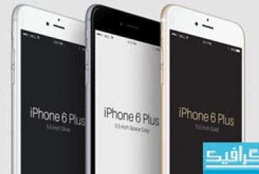 دانلود ماک آپ گوشی iPhone 6 plus