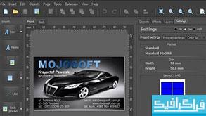 دانلود نرم افزار طراحی کارت ویزیت Mojosoft BusinessCards MX 4.93