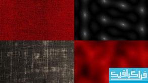 دانلود تکسچر های سطوح قرمز و سیاه