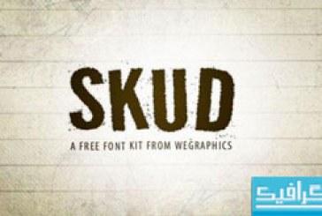 دانلود فونت انگلیسی Skud