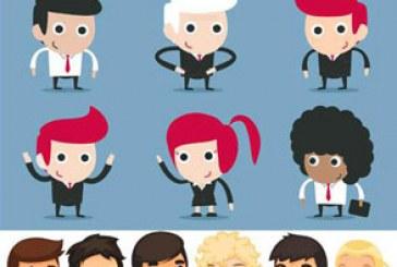 دانلود وکتور شخصیت های کارتونی تاجر – شماره 2