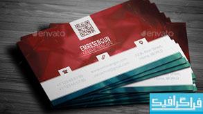 دانلود کارت ویزیت شرکتی - طرح شماره 29