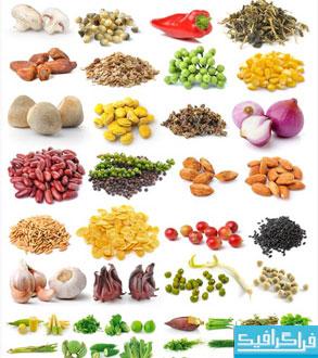 تصاویر استوک حبوبات-میوه-سبزیجات