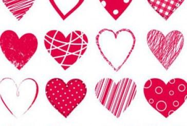 دانلود وکتور های قلب – طرح انتزاعی