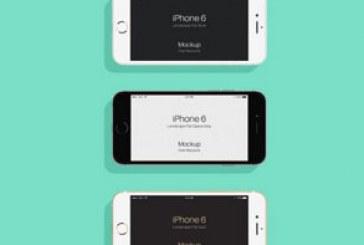 دانلود ماک آپ های Iphone 6 و 6s – طرح تخت