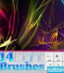 دانلود براش های فتوشاپ خطوط نور
