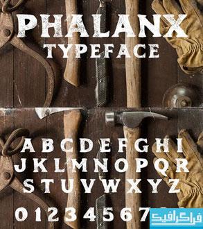 دانلود فونت انگلیسی Phalanx