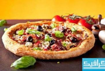 دانلود تصاویر استوک پیتزا – شماره 2