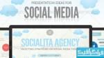 دانلود قالب پاور پوینت شبکه های اجتماعی