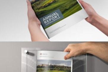 دانلود فایل لایه باز این دیزاین بروشور گزارش سالیانه