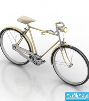 دانلود مدل سه بعدی دوچرخه قدیمی
