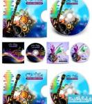 دانلود وکتور های برچسب و کاور CD-DVD