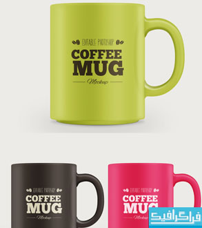 دانلود ماک آپ لیوان قهوه